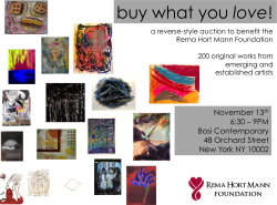 Buy what you love